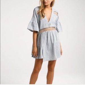 SUBOO Desert Muse Tiered Kaftan Dress
